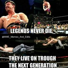 So true! Eddie Guerrero was an inspiration for many in this generation including Seth Rollins Seth Freakin Rollins, Seth Rollins, Eddie Guerrero, Men's Wrestling, Wwe Tna, Sports Figures, Professional Wrestling, Wwe Wrestlers, Roman Reigns