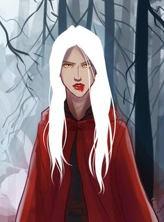 Manon is from the Throne of Glass series by Sarah J. Maas ~Used Paint tool sai and wacom bamboo tablet
