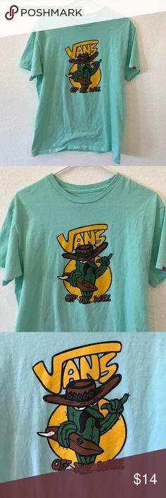 Vans T-Shirt Size Medium Vans T-Shirt Size Medium, Used, Great Condition,!All bundles of 2 or more receive 20% off. Closet full of new, used and vintage Vans, Skate and surf companies, jewelry, phone cases, shoes and more. Vans Shirts Tees - Short Sleeve
