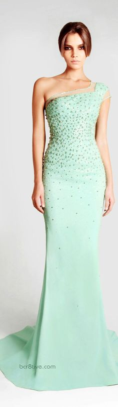 "Georges Hobeika Spring Summer 2013 Ready to Wear Signature Collection  ✮✮""Feel free to share on Pinterest"" ♥ღ www.fashionandclothingblog.com"
