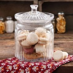 Free 2-day shipping on qualified orders over $35. Buy The Pioneer Woman Adeline Glass Cookie Jar at Walmart.com
