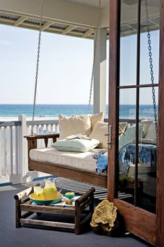 I can just picture myself sitting here sipping lemonade listening to the sound of the ocean