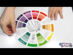 ▶ Como Combinar Colores Circulo Cromatico *Color Combinations Color Wheel* DIY Pintura Facil - YouTube