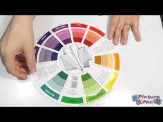 Como Combinar Colores Circulo Cromatico *Color Combinations Color Wheel* DIY Pintura Facil - YouTube