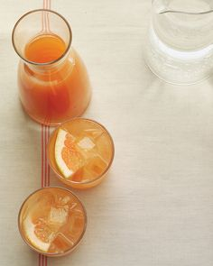 This is a tasty and refreshing spritzer for hot summer days.