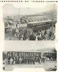 Bonde em fotos da inauguração da linha Cidade Jardim.
