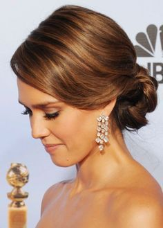 50 Best Updos For Medium Hair   herinterest.com **My favorites out of the 50.**