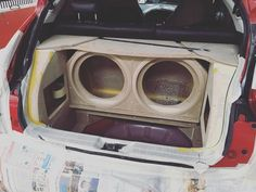 Nissan Juke Custom Box with Rockford Fosgate Subwoofer Custom Car Audio, Custom Cars, Car Audio Installation, Subwoofer Box Design, Sound Stage, Car Sounds, Car Audio Systems, Rockford Fosgate, Nissan Juke