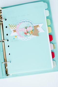 The Pretty Paper Diaries: My Planner {Martha Stewart Staples Line}