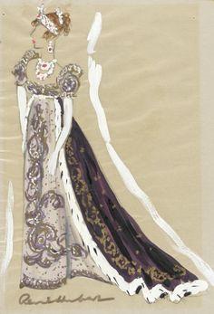 """Merle Obéron - """"Désirée"""" (1954) - Costume designers : Charles Le Maire & René Hubert"""