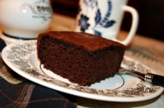 Recipe: Dubbel Dark Chocolate Cake with Dark Chocolate Ganache {Guinness Cake with a Gluten-Free Makeover}