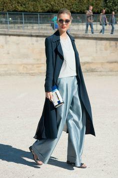Paris Fashion Week Street Style - HarpersBAZAARUK #WomenFashion