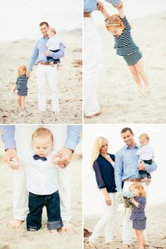 A Stylish Family Beach Session in Carlsbad - On to Baby