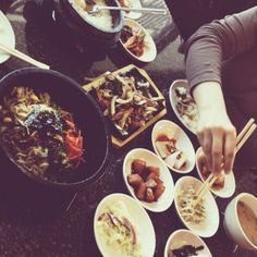 // Korean food