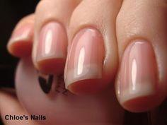 Fresh, clean, natural nails! My personal favorite. #nailfreak