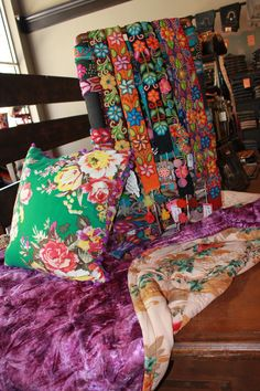 Alma Soul belts are perfect for any season.  Check out the Consuela throw and pillow!