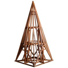 19th Century Didactical Architecture Model of a Roof Truss | From a unique collection of antique and modern collectibles and curiosities at https://www.1stdibs.com/furniture/more-furniture-collectibles/collectibles-curiosities/