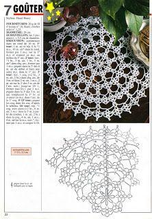 Mi Espacio!!!: Carpeta al Crochet doble función