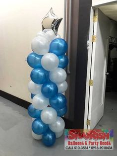 Year-end Party 2018 Forecasting and Planning Technologies Inc. Balloon Pillars, Company Anniversary, Balloons, How To Plan, Party, Globes, Balloon, Parties, Hot Air Balloons
