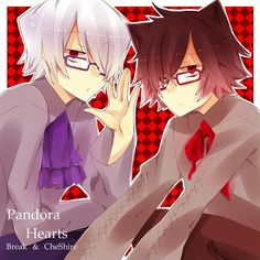 Tags: Pandora Hearts, Xerxes Break, Cheshire Cat (Pandora Hearts), Checkered, Ascot, Checkered Background