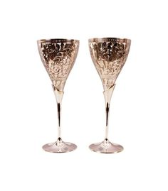 Gorgeous Silver Champain Glass Cup with stand for Cocktail Wine party Wedding