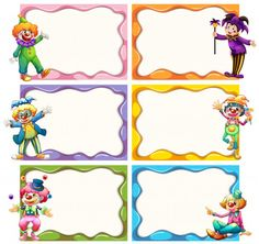 Frame template with jesters vector image on VectorStock Frame Template, Templates, Circus Invitations, Thankful Tree, Photo Layers, Borders And Frames, Circus Party, Vector Photo, Adobe Illustrator