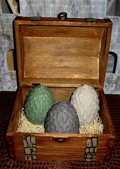 A Game of Thrones Dragon Eggs (not originals)