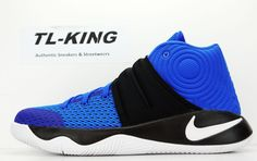 e2019dcfb7fd Nike Kyrie 2 GS Youth Brotherhood Hyper Cobalt Silver Black 826673 444 Msrp   100  Nike