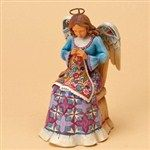 Sew Angelic-Sewing Angel Figurine from Sewing - Jim Shore Store
