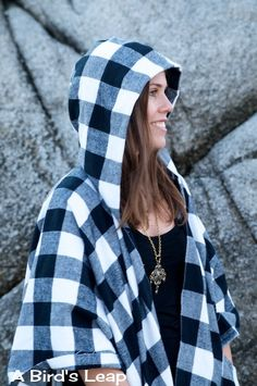 A Bird's Leap: DIY Cape with Hood & Pockets