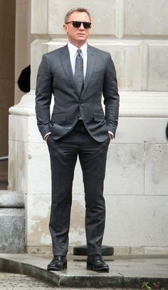 The Gray Notch Lapel Suit - Ashley Weston                                                                                                                                                      More