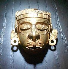 Fine gold Mixtec handiwork