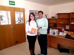 """Ganadora del IV Concurso """"Sigue la Pista al libro""""(2013) en BCBA. #concursos #libros #biblioteca #uex #alumnos"""