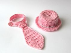 Baby girl photo props, newborn girl photo props,crochet photo props,baby girl necktie,baby girl fotosession outfit,babygirl wide brimmed hat by Amaiahandmade on Etsy
