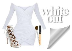 """""""Bonita"""" by fuzzylexiis ❤ liked on Polyvore featuring Aquazzura and Maybelline"""