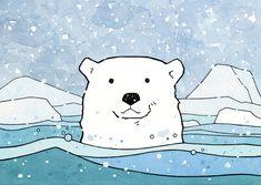 Polar Bear Illustration by studiotuesday