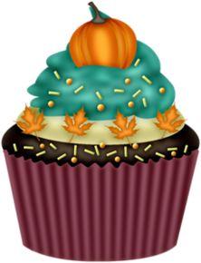 Thanksgiving Cake Clip Art : HALLOWEEN CUPCAKE CLIP ART CLIP ART - HALLOWEEN 1 ...