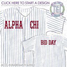 TGI Greek - Alpha Chi Omega - Spirit Week - Recruitment - Greek Apparel - Sorority T-shirts - Bid Day #alphachiomega #sororityspiritweek #sororityrecruitment #tgigreekapparel #sororityworkweek #greektshirts #axobidday