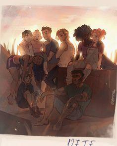 Rampion Crew by Jo Kay- The Lunar Chronicles Character Inspiration, Character Art, The Lunar Chronicles, Marissa Meyer Books, Fanart, Book Memes, Book Fandoms, Book Nerd, Art Blog