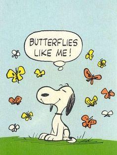 Mariposas~Butterflies~Birds~Humans~Love Snoopy