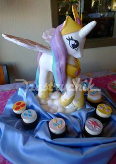 Incredible Princess Celestia cake by Pastry chic!