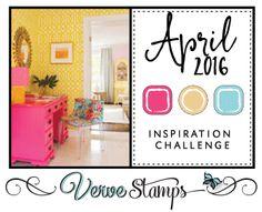 April 2016 Verve Diva Inspirations Challenge | www.vervestamps.blogspot.com