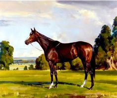 Rachel Alexandra - Oil on canvas by Andre Pater, 2009