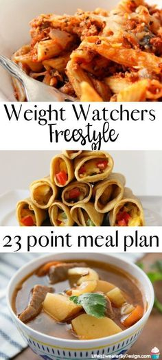 Weight Watchers meal plan for Freestyle will help you stay on track. This meal plan includes freestyle SmartPoints for Weight Watchers recipes and is family friendly.