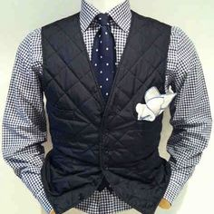 Nylon Quilted Vest