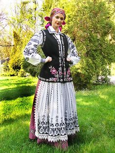 Folk costume of Hrubieszów, Poland