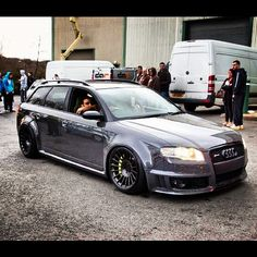 Audi RS4 Wagon it works http://extreme-modified.com/