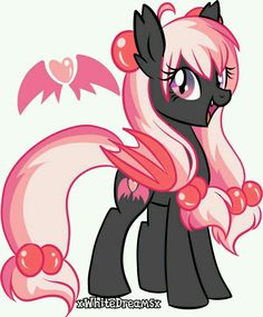 This is Strawberry Wings. She is a 16 and loves the color pink and black. She dose not love the light because she cab turn into dust. >>UP FOR ADOPTION<<