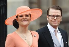 Crown Princess Victoria's hat for the royal wedding
