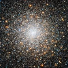 — Globular cluster M15 — This star cluster is known as M15 (Messier 15), and is located some 35 000 light-years away in the constellation of Pegasus (The Winged Horse). It is one of the oldest globular clusters known, with an age of around 12 billion years. - Image Credit: NASA, - Image enhancement: Jean-Baptiste Faure